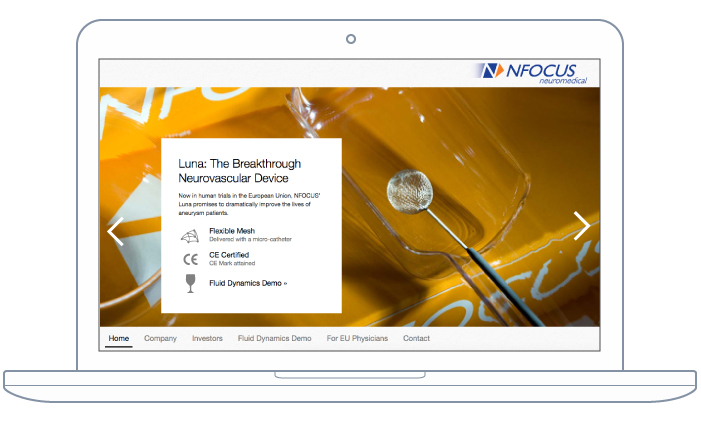 BKW Partners Builds New Website For NFOCUS Neuromedical