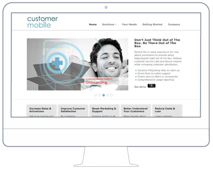 BKW Partners re-designs website for Customer Mobile