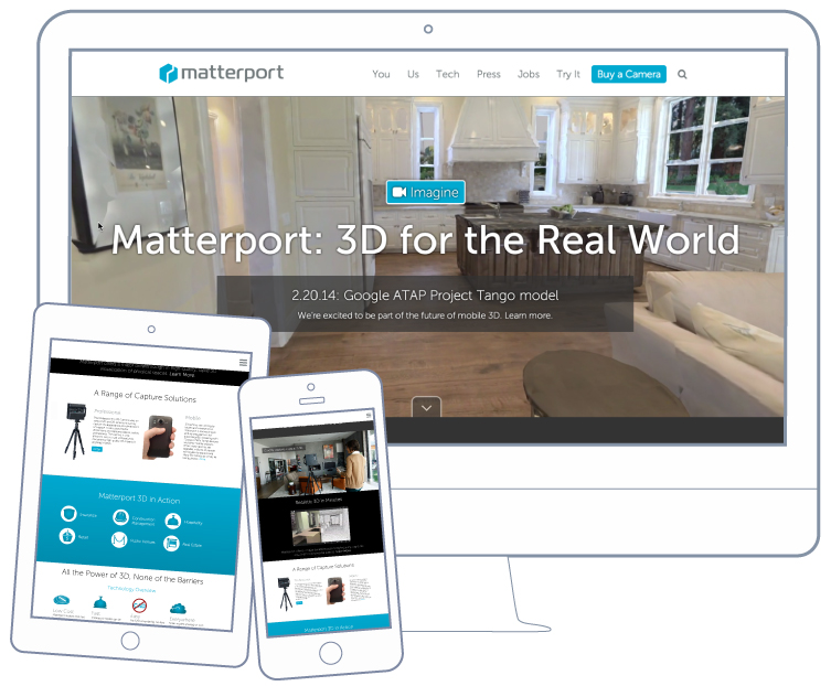 BKW Partners brands VR company Matterport